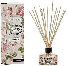 Düfte, Parfümerie und Kosmetik Aroma-Diffusor mit Duftholzstäbchen Rose Nectar - Panier Des Sens Rose Nectar Reed Diffuser