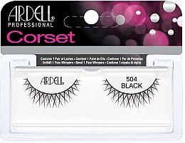 Düfte, Parfümerie und Kosmetik Künstliche Wimpern - Ardell Corset 504 Black Lashes