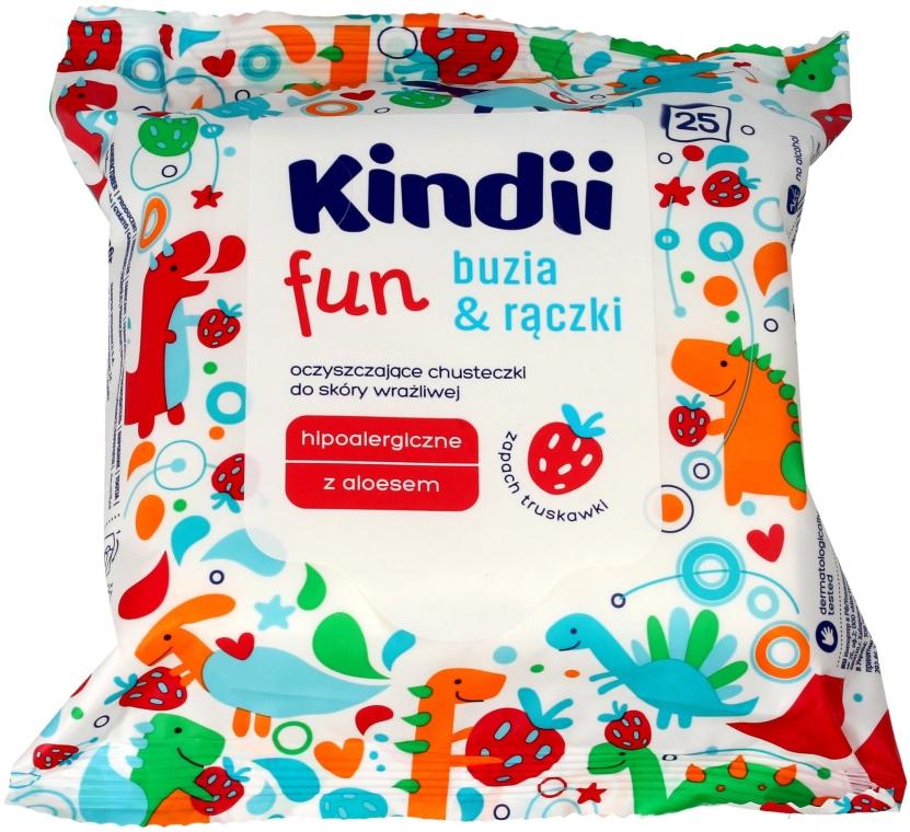 Feuchttücher für Kinder 25 St. - Kindii Fun — Bild N1