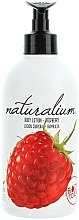 Düfte, Parfümerie und Kosmetik Nährende Körperlotion mit Himbeerduft - Naturalium Body Lotion Raspberry