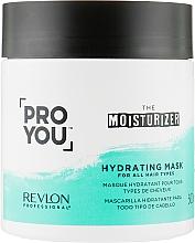 Düfte, Parfümerie und Kosmetik Feuchtigkeitsspendende Maske für alle Haartypen - Revlon Professional Pro You Hydrating Mask