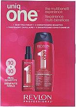 Düfte, Parfümerie und Kosmetik Haarpflegeset - Revlon Professional Uniq One (Haarspray 150ml + 2in1 Shampoo und Conditioner 300ml)