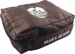 Düfte, Parfümerie und Kosmetik Kulturbeutel für Männer MB210 - Man's Beard Brown Men's Toiletry Bag