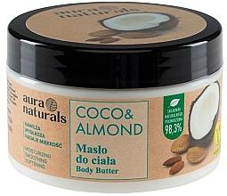 Düfte, Parfümerie und Kosmetik Körperbutter mit Kokosnuss und Mandel - Aura Naturals Coco & Almond Body Butter