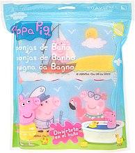 "Düfte, Parfümerie und Kosmetik Badeschwamm-Set ""Peppa Wutz"" 3 St. Meer - Suavipiel Peppa Pig Bath Sponge"