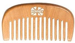 Düfte, Parfümerie und Kosmetik Holziger Haarkamm - Ronney Professional Wooden Comb 119