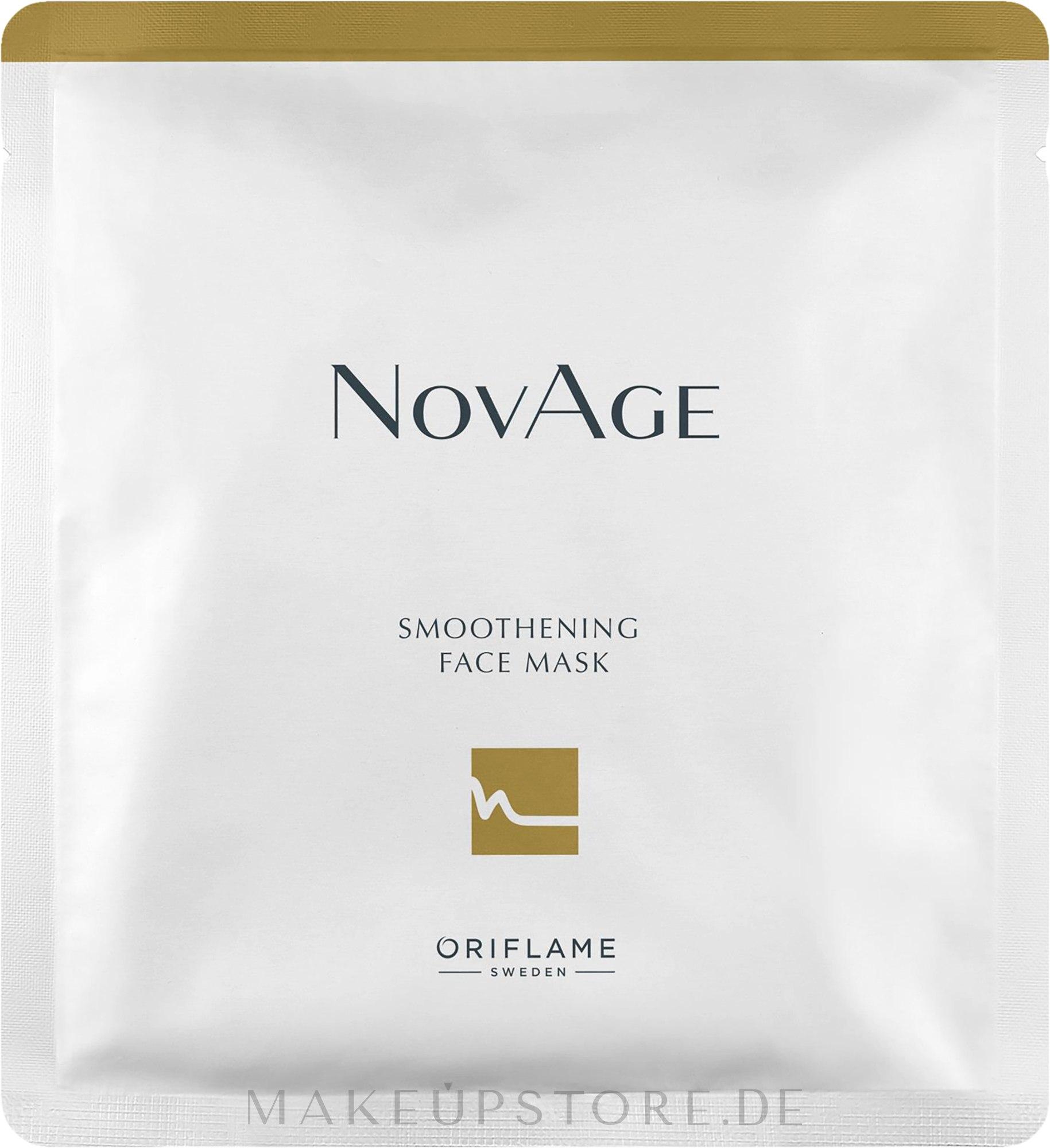 Glättende Tuchmaske - Oriflame NovAge Smoothening Face Mask — Bild 25 ml