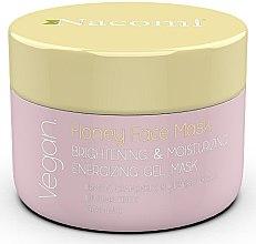 Düfte, Parfümerie und Kosmetik Aufhellende und feuchtigkeitsspendende Gelmaske für das Gesicht mit Honig - Nacomi Honey Face Gel-Mask