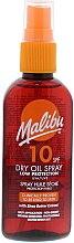 Düfte, Parfümerie und Kosmetik Trockenes Bräunungsöl mit Sheabutterextrakt SPF 10 - Malibu Dry Oil Spray Low Protection Very Water Resistant SPF 10