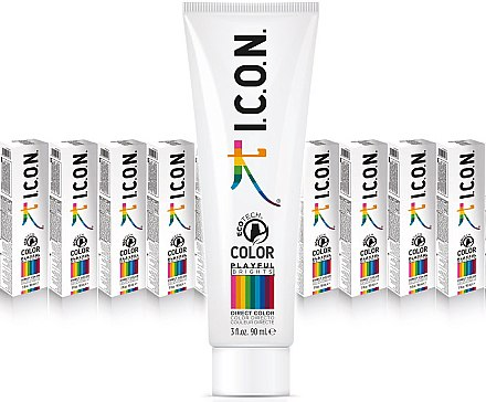 Haarfarbe - I.C.O.N. Playful Brights Direct Color — Bild N2
