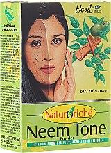 Düfte, Parfümerie und Kosmetik Gesichtsmaske gegen Pickel, Akne und Pigmentflecken - Hesh Neem Tone Powder