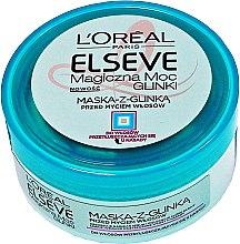 Düfte, Parfümerie und Kosmetik Haarmaske mit Tonerde für fettiges und normales Haar - L'Oreal Paris Elseve Extraordinary Clay Mask