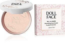 Düfte, Parfümerie und Kosmetik Illuminierender Gesichtspuder - Doll Face All A Glow Illuminating Powder