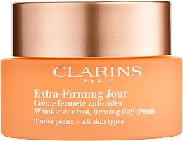 Straffende und feuchtigkeitsspendende Anti-Falten Tagescreme - Clarins Extra-Firming Day Cream — Bild N1