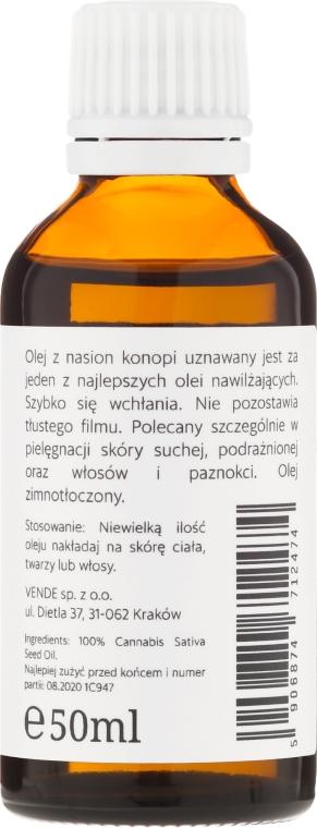 Hanfsamenöl für trockene und gereizte Haut - Maudi — Bild N2