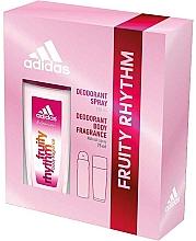 Düfte, Parfümerie und Kosmetik Adidas Fruity Rhythm - Duftset (Deodorant-Spray/75ml+Deodorant/150ml)
