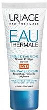 Reichhaltige Wassercreme für trockene bis sehr trockene Haut SPF 20 - Uriage Eau Thermale Rich Cream SPF20 — Bild N1