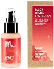 Düfte, Parfümerie und Kosmetik Feuchtigkeitsspendende Anti-Aging Gesichtscreme mit Orchideenextrakt - Freshly Cosmetics Bloom Orchid Face Cream