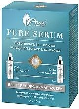 Düfte, Parfümerie und Kosmetik Anti-Falten Gesichtsserum mit Goldpartikeln und Q10 - Ava Laboratorium Pure Serum
