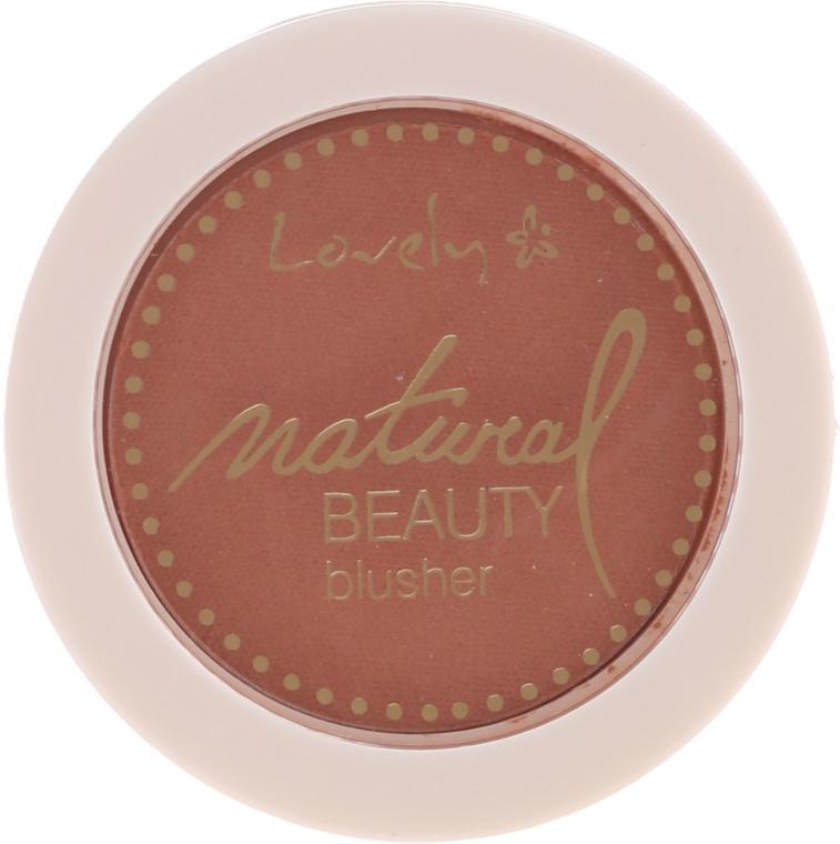 Kompakt-Rouge - Lovely Natural Beauty Blusher — Bild N1