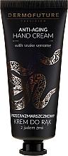 Düfte, Parfümerie und Kosmetik Anti-Aging Handcreme mit Schlangengift - Dermofuture Anti-aging Hand Cream