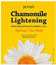 Düfte, Parfümerie und Kosmetik Nährende tonisierende und aufhellende Hydrogel-Gesichtsmaske mit Kamillenextrakt - Petitfee&Koelf Chamomile Lightening Hydrogel Face Mask