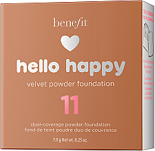 Puder-Foundation - Benefit Hello Happy Velvet Powder Foundation — Bild N13
