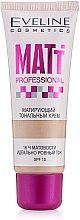 Düfte, Parfümerie und Kosmetik Langanhaltende Foundation LSF 10 - Eveline Cosmetics Matt Professional