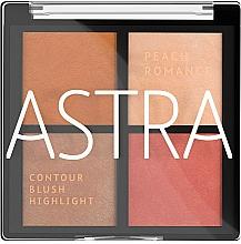 Düfte, Parfümerie und Kosmetik Make-up Palette - Astra Make-up The Romance Palette