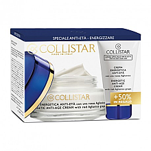 Düfte, Parfümerie und Kosmetik Gesichtspflegeset - Collistar Energetic Anti-Age Cream (Creme 50ml + Creme 25ml)