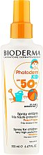 Düfte, Parfümerie und Kosmetik Sonnenschutzspray für Kinder SPF 50+ - Bioderma Photoderm Kid Spray SPF 50+
