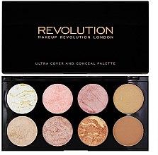 Düfte, Parfümerie und Kosmetik Rouge- und Konturpalette - Makeup Revolution Blush Palette Golden Sugar