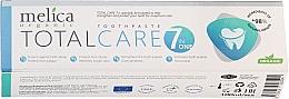 Düfte, Parfümerie und Kosmetik Zahnpasta Total Care 7 in one - Melica Organic Toothpaste Total Care 7