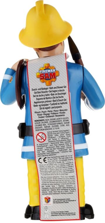 Bade- und Duschgel für Kinder Feuerwehrmann Sam - The Beauty Care Company Fireman Sam Bath & Shower Gel — Bild N2