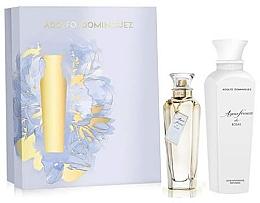 Düfte, Parfümerie und Kosmetik Adolfo Dominguez Agua Fresca de Rosas - Duftset (Eau de Toilette 120ml + Körperlotion 300ml)