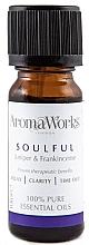 Düfte, Parfümerie und Kosmetik Ätherische Ölmischung mit Wacholder und Weihrauch - AromaWorks Soulful Essential Oil