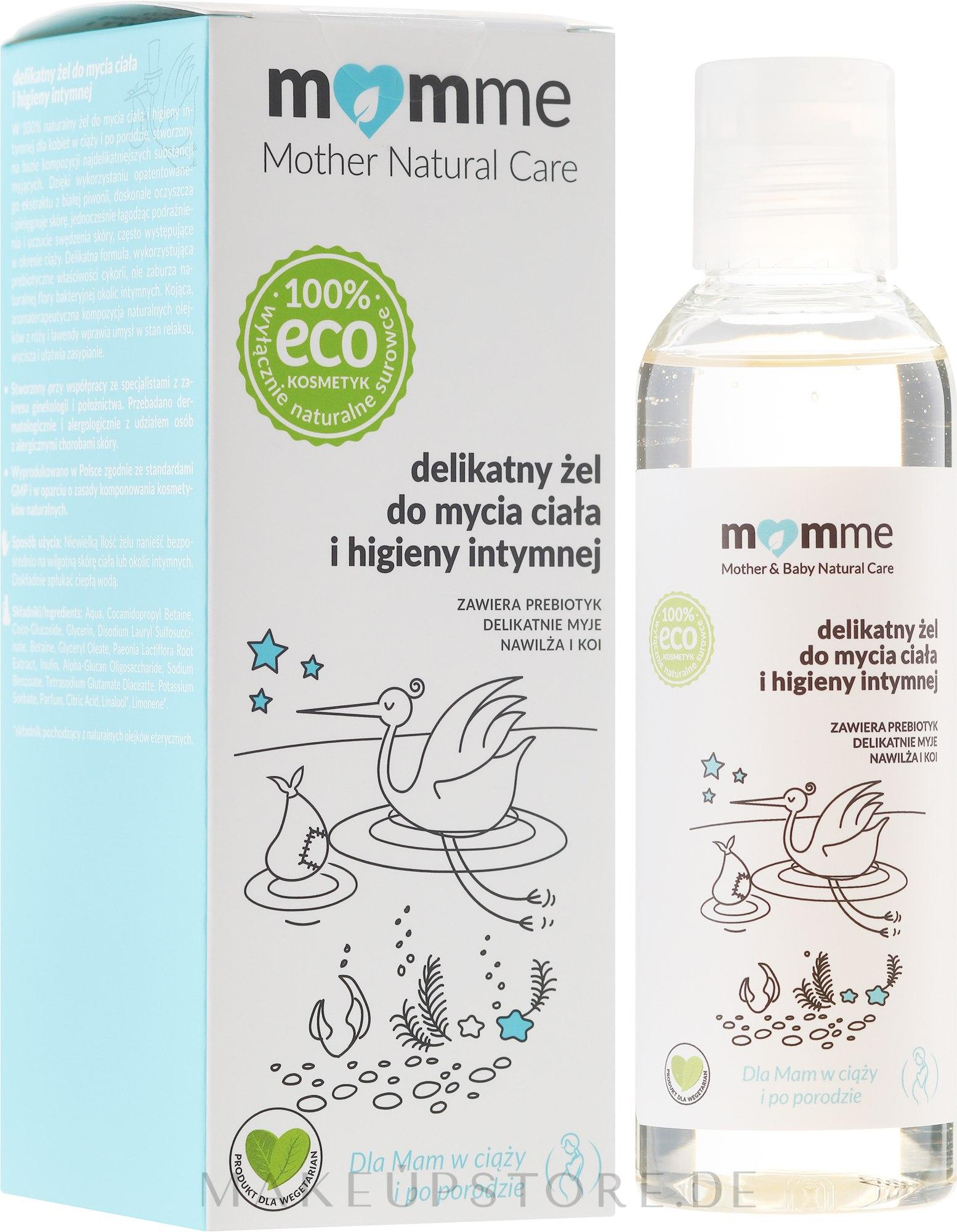 Gel für Körper und Intimhygiene - Momme Mother Natural Care Gel — Bild 150 ml
