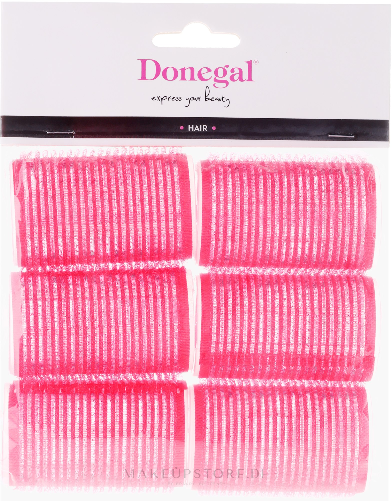 Klettwickler 36 mm 6 St. - Donegal Hair Curlers — Bild 6 St..