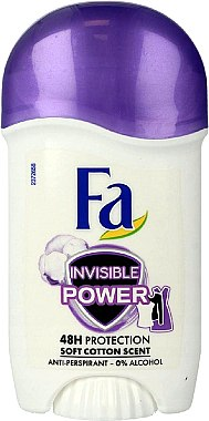 Deostick Antitranspirant - Fa Invisible Power Deodorant Stick — Bild N1