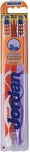 Düfte, Parfümerie und Kosmetik Zahnbürste mittel Advanced violett, orange 2 St. - Jordan Advanced Medium