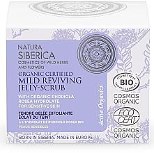 Düfte, Parfümerie und Kosmetik Sanftes belebendes Gelee-Peeling für das Gesicht - Natura Siberica Organic Certified Mild Reviving Jelly-Scrub