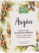 Naturseife mit Argan für alle Hauttypen - Luxana Phyto Nature Argan Soap — Bild N1