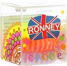 Düfte, Parfümerie und Kosmetik Haargummis Farb-Mix 3 St. №4 - Ronney Professional S4 MAT