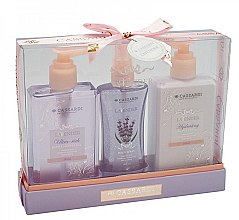 Düfte, Parfümerie und Kosmetik Körperpflegeset - Cassardi Lavender (Duschgel 200ml + Körperbalsam 200ml + Körpernebel 100ml)
