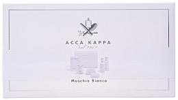 Düfte, Parfümerie und Kosmetik Acca Kappa White Moss - Kosmetikset (Eau de Cologne/50ml+Duschgel/100ml+Körperlotion/100ml+Seife/50g)