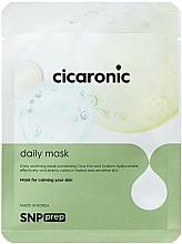 Düfte, Parfümerie und Kosmetik Beruhigende Tuchmaske für das Gesicht - SNP Prep Cicaronic Daily Mask