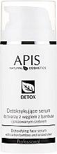 Düfte, Parfümerie und Kosmetik Detox Gesichtsserum mit Bambuskohle und ionisiertem Silber - APIS Professional Detox Detoxifying Face Serum With Carbon Bamboo And Ionized Silver