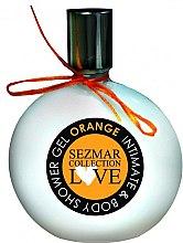 """Düfte, Parfümerie und Kosmetik Duschgel und Intimgel 2in1 """"Orange"""" - Hristina Cosmetics Sezmar Love Orange Intimate & Body Shower Gel"""