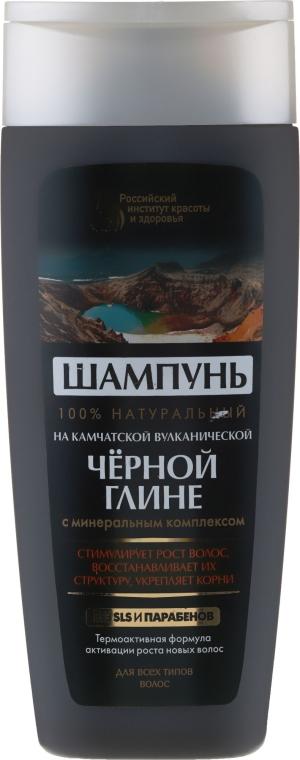 100% natürliches Shampoo mit schwarzem Ton aus Kamtschatka - Fito Kosmetik