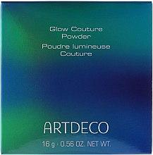 Düfte, Parfümerie und Kosmetik Sanft schimmernder Highlighter Puder - Artdeco Glow Couture Powder